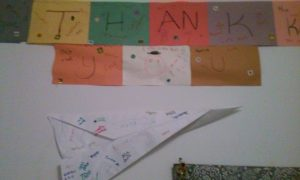 Some more amazing thank you's from my students at both Rawson Elementary and Breakthrough Magnet South in Hartford, CT.